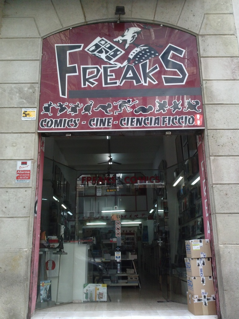 Freaks. Barcelona, Spain.