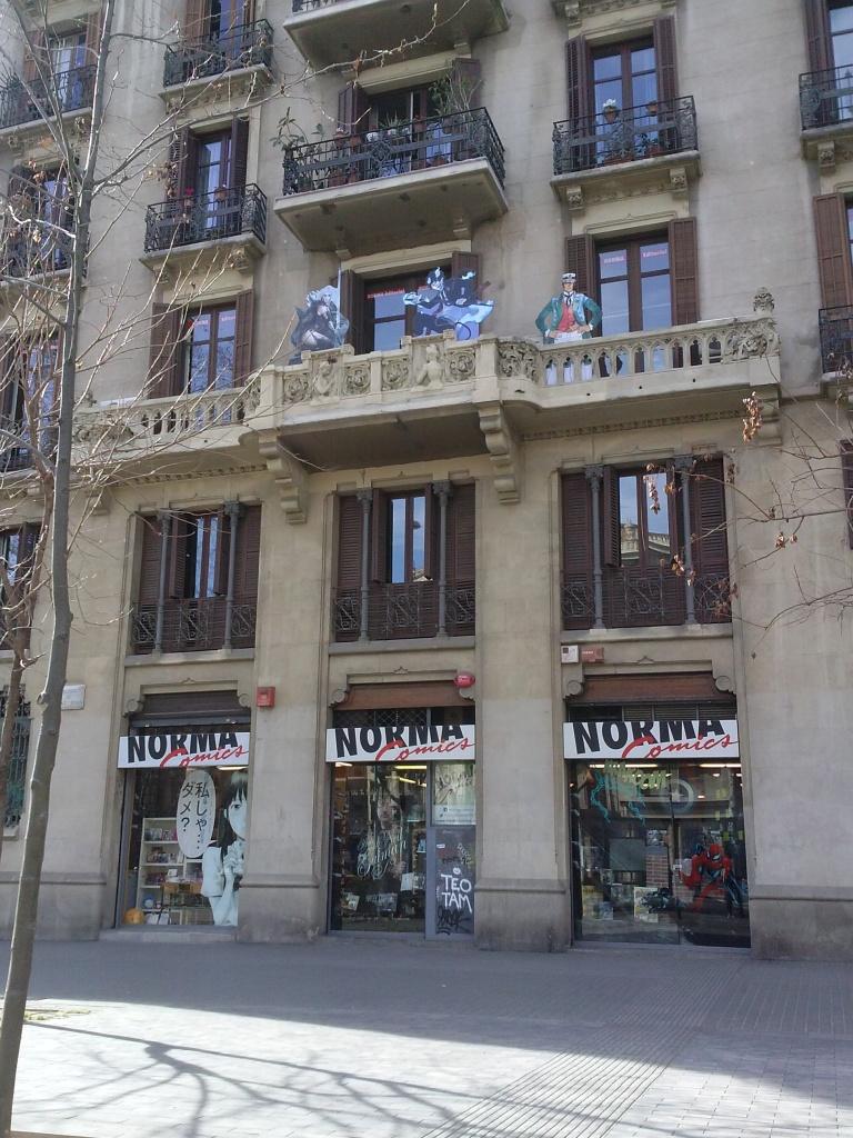 Norma Comics. Barcelona, Spain.